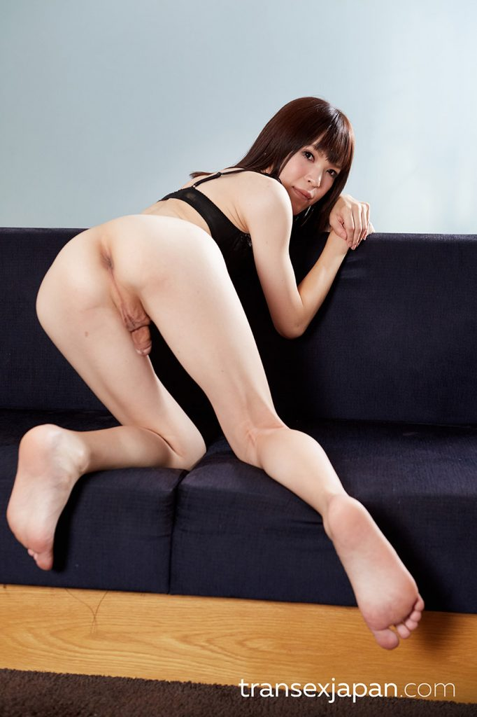 Yui Kawai, transsexual, Japan, gravure, nudes, small cock, pale skin, very fem, small tits, tattoo, anal sex, exclusive photos,
